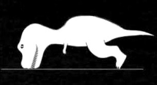 t rex push up