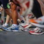 marathon runners feet